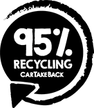 CarTakeBack 95% Recycling Seal