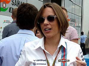 Claire Williams F1 deputy team principle