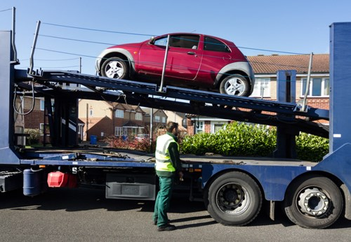 CarTakeBack collects a Ford Ka