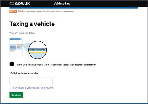 Online car tax how to check a car is taxed cartakeback taxing your car online spiritdancerdesigns Gallery