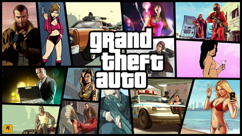 Grand Theft Auto poster