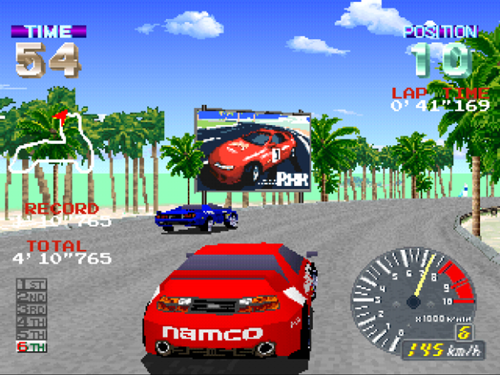 Ridge Racer game play