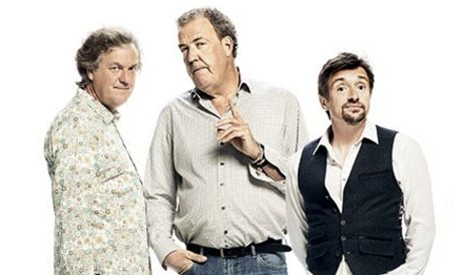 The presenters of the Grand Tour