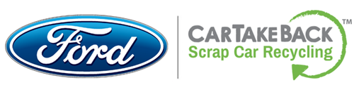 Ford approved scrap car recycling