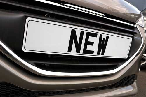 Transferring Personalised Number Plates To New Car
