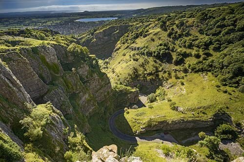 Cheddar Gorge. Photo by Iankelsall1 on Pixabay