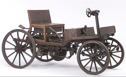 Marcus Wagen 2 1888-1889. Source - Technical Museum, Vienna