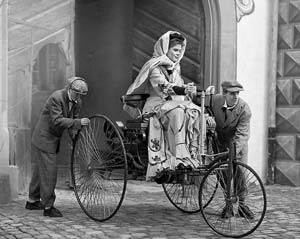 Bertha Benz responsible for completing the first long-distance car journey
