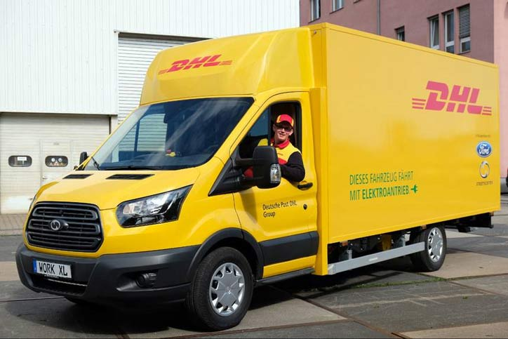Ford StreetScooter Work XL for DHL