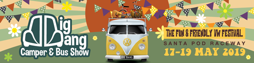 Big Bang Camper And Bus Show - VW Festival 2019