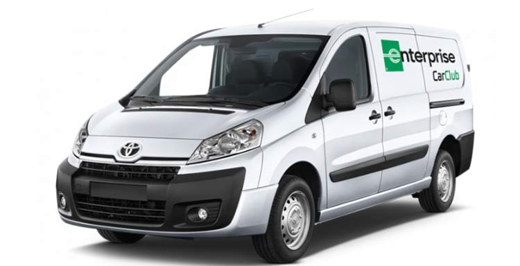Enterprise rental van